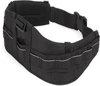 S&F Deluxe Technical Belt (S/M) Negro