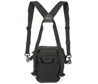 Topload Chest Harness Negro