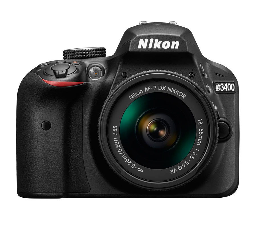 Nikon D3400 + AFP DX 18-55 (e-Book + funda)