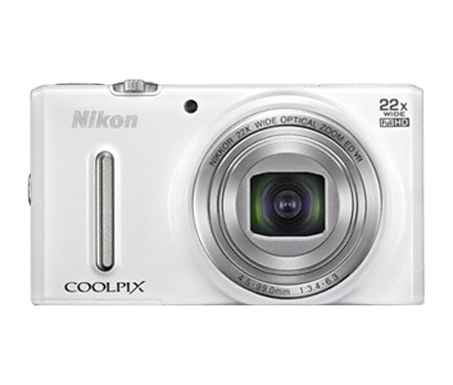 COOLPIX S9600  White (Zero Shot)
