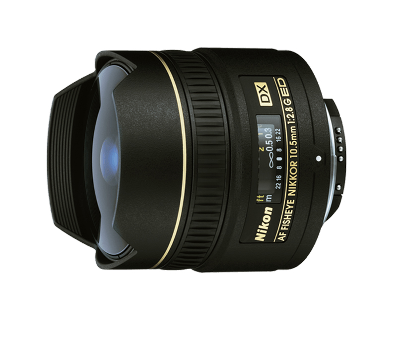 Nikkor AF DX 10.5mm F2.8G IF ED FE