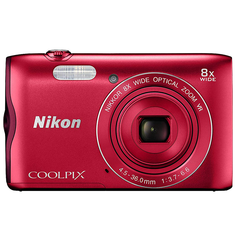 Cámara Nikon COOLPIX A300 Red (Outlet)