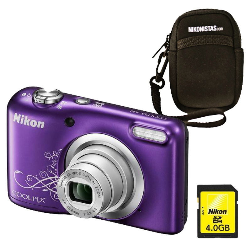 Cámara Nikon COOLPIX A10 Purple