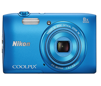 COOLPIX S3600 Blue