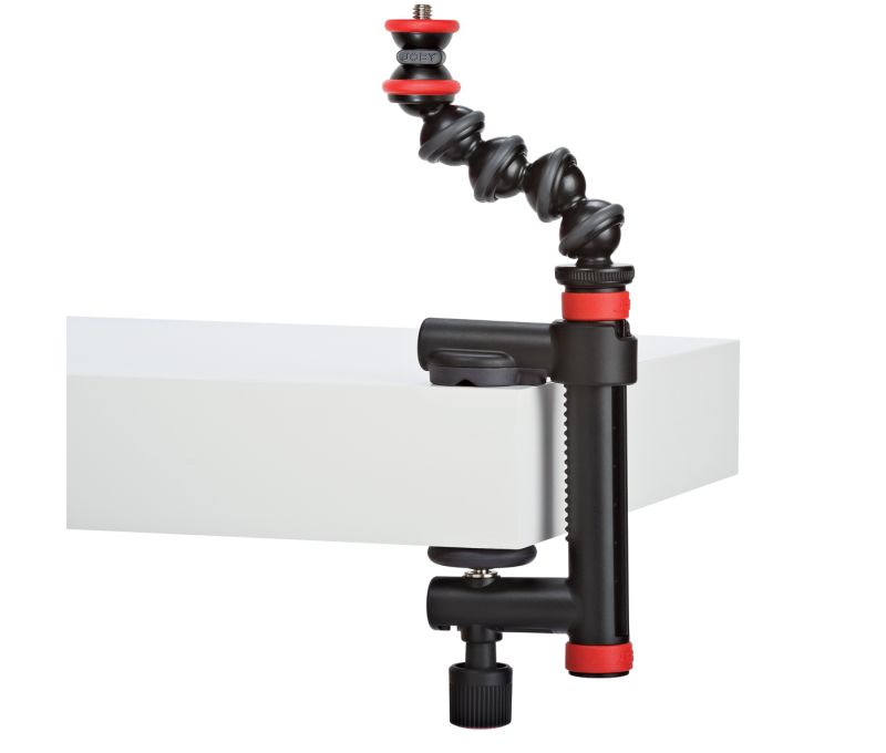 Action Clamp GorillaPod Arm Black/Red
