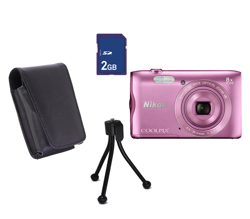 COOLPIX A300 Promo Pink