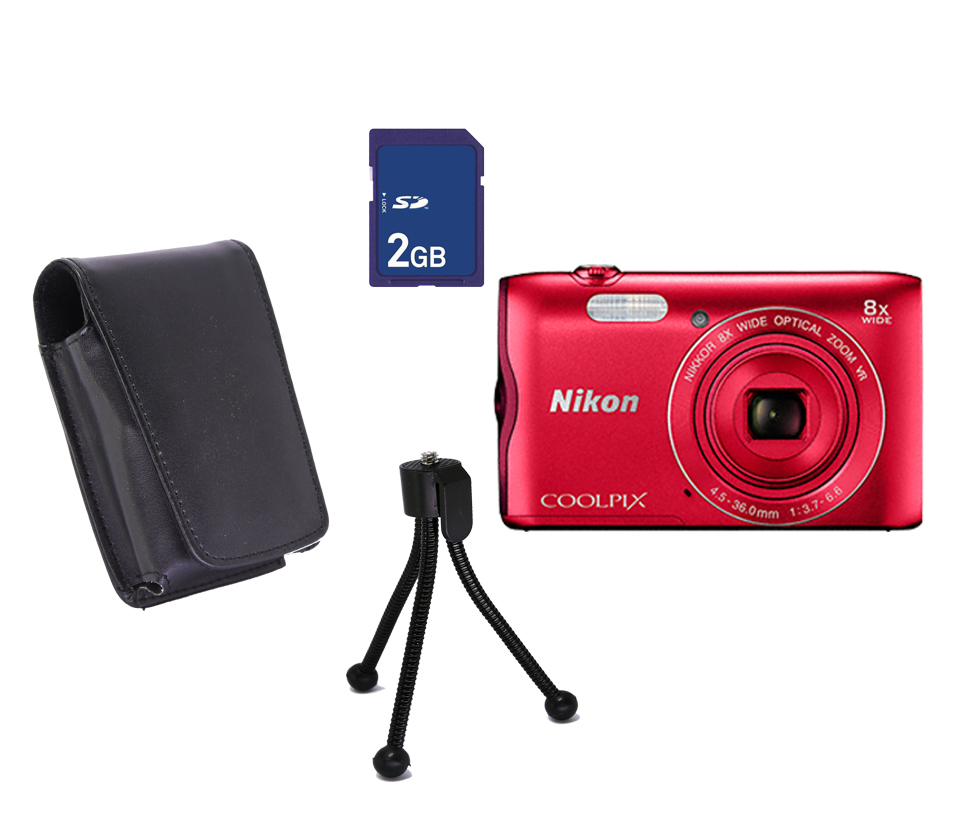 COOLPIX A300 Promo  Red