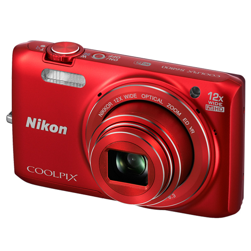 Cámara Nikon COOLPIX S6800 Red (Outlet)