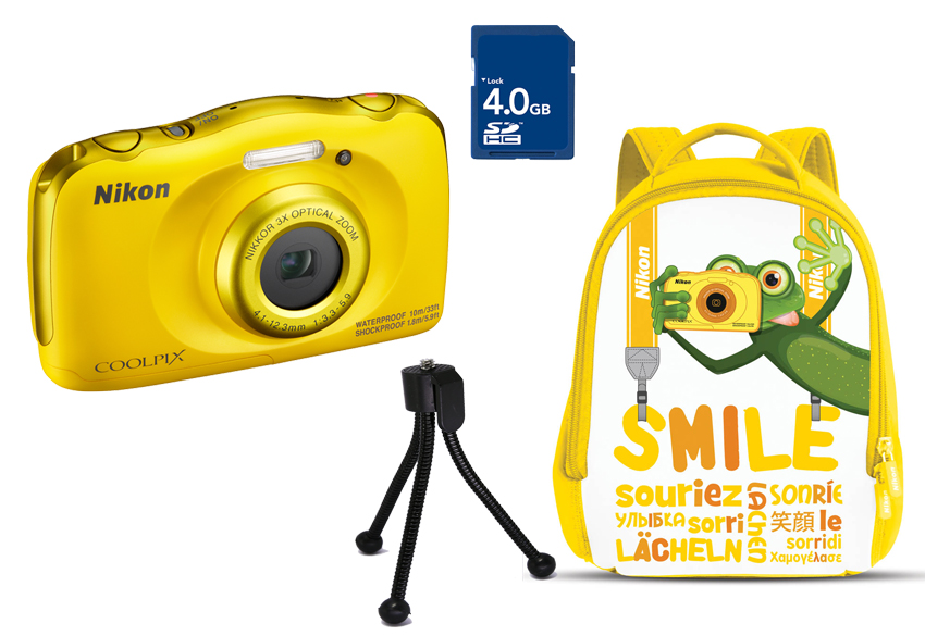 COOLPIX W100 Yellow