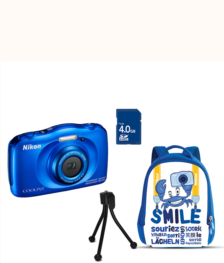 COOLPIX W100 Blue