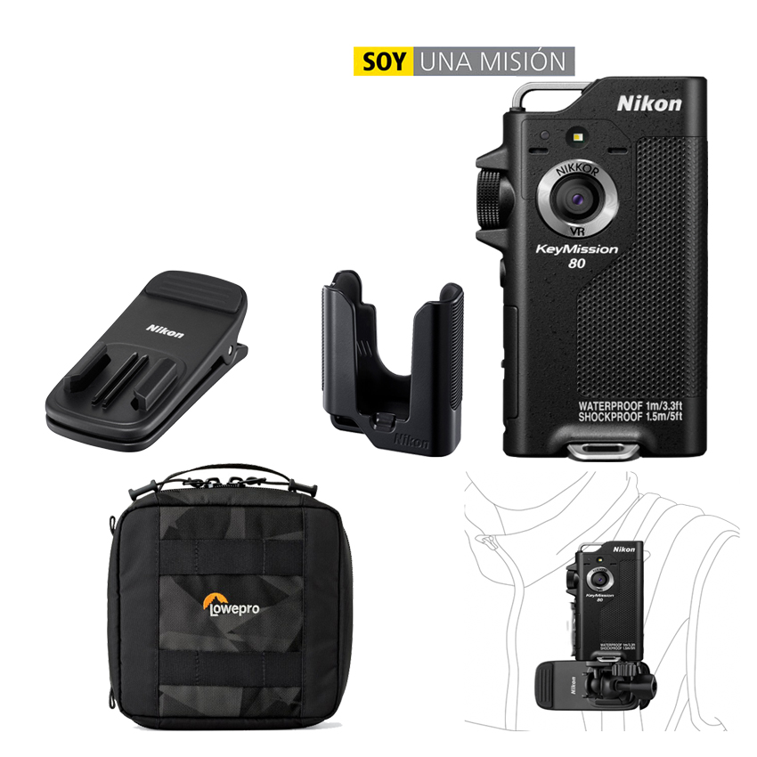Nikon KeyMission 80 Black  KIT