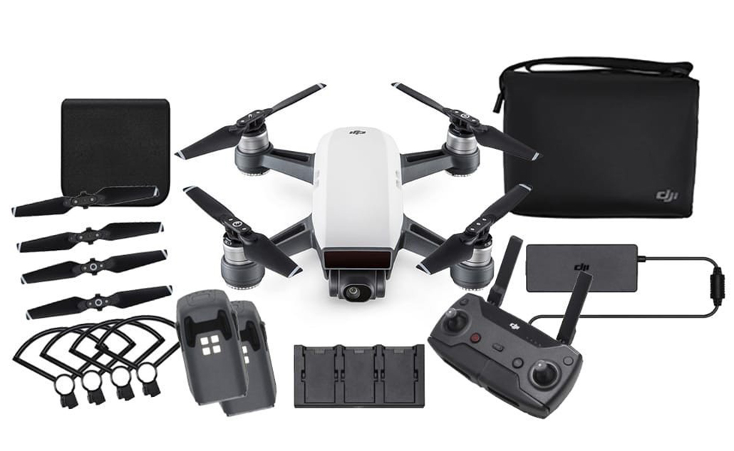 Dron DJI SPARK Kit Fly More Combo (Alpine White)