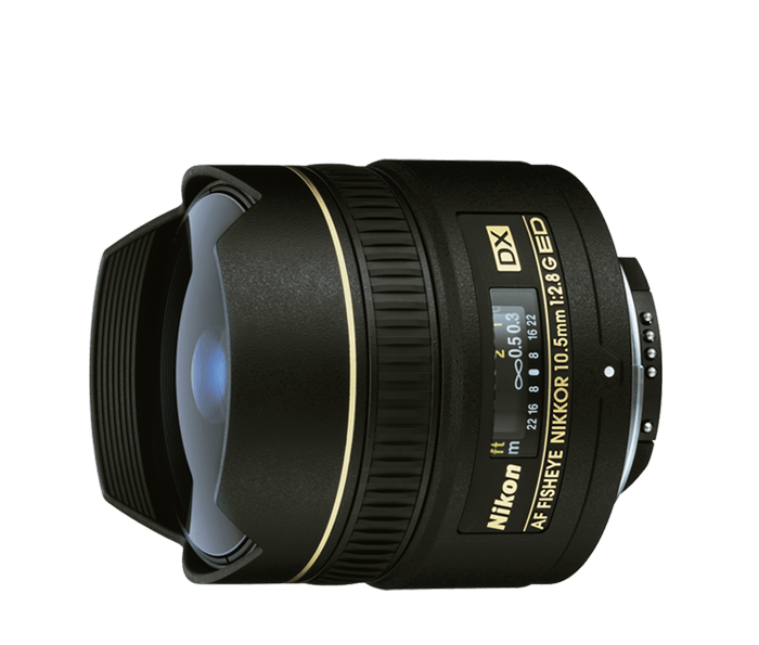 Objetivo AF DX Fisheye NIKKOR   DX 10.5mm F2.8 (Zero Shot)