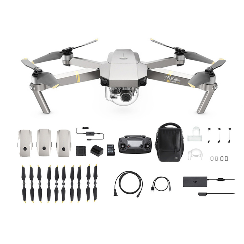 Dron DJI MAVIC Pro PLATINUM Fly More Combo