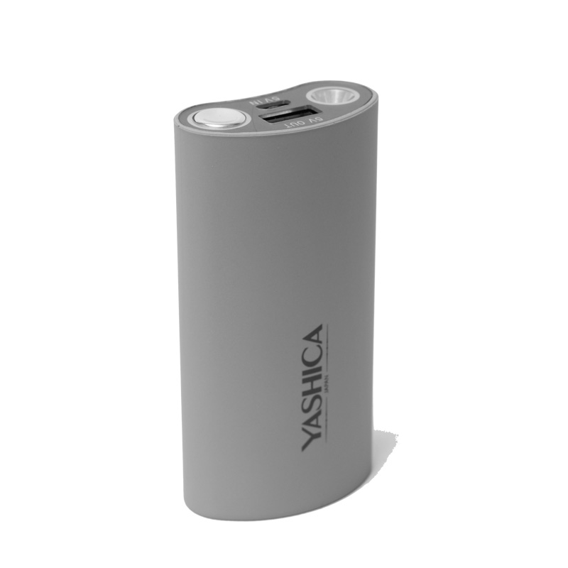 Power Bank 5000 mAh Gray