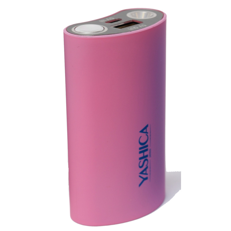 Power Bank 5000 mAh Pink