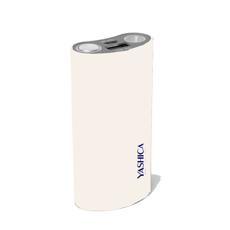 Power Bank 5000 mAh White